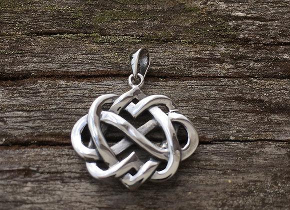 Eternity Celtic knot pendant