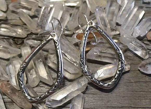 Sonja Picard medium gopi drop earrings