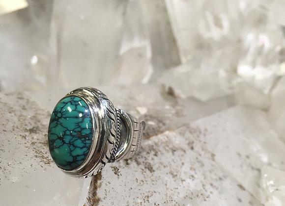 Saville turquoise ring