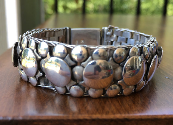 Bosco Bling silver scales bracelet
