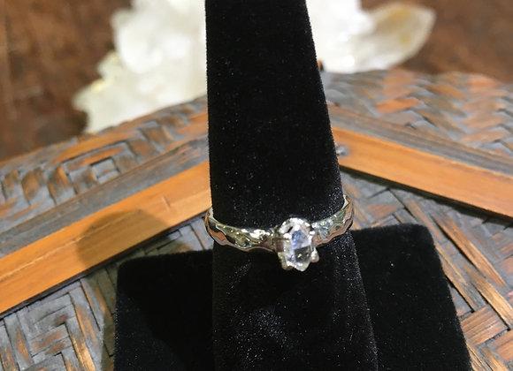 Herkimer diamond stacking band