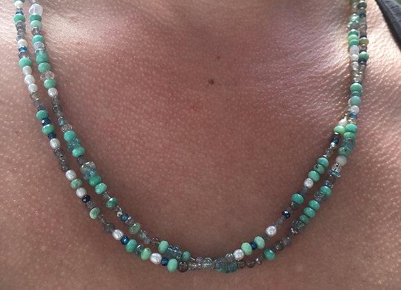 GenVie designs wrap necklace