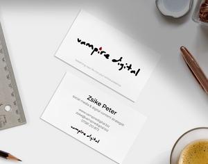 Vampire Digital brand, branding, personal branding, business branding