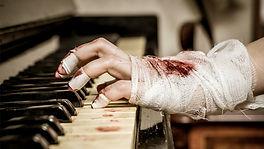 Royalty Free Dark Piano
