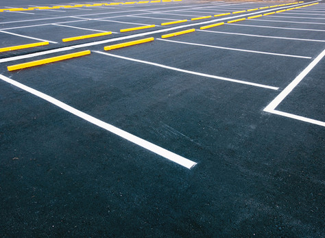 Are there hazards in parking lots?