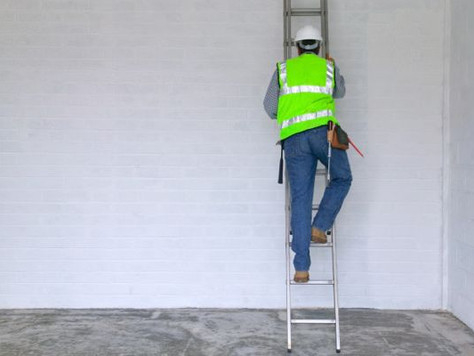 Three Points of Contact - Ladder Safety