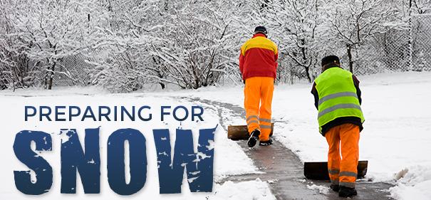 Snow Removal Preparations