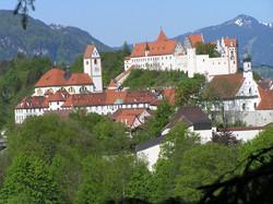 St. Mang Kirche, Hohes Schloss