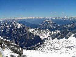 Blick von Zugspitze