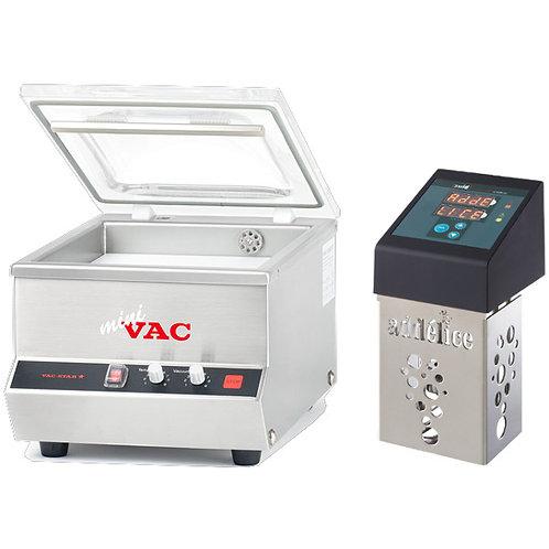 Pack thermoplongeur SWID et sous videuse cloche MiniVac