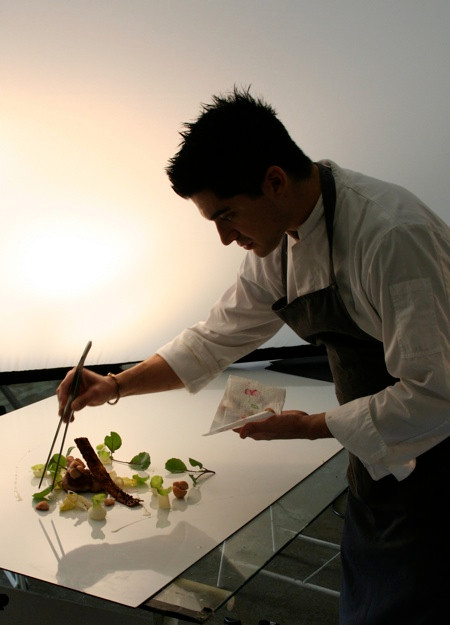 Chef Samuel Sirois - photoshooting - Cuisson sous vide thermoplongeur SWID