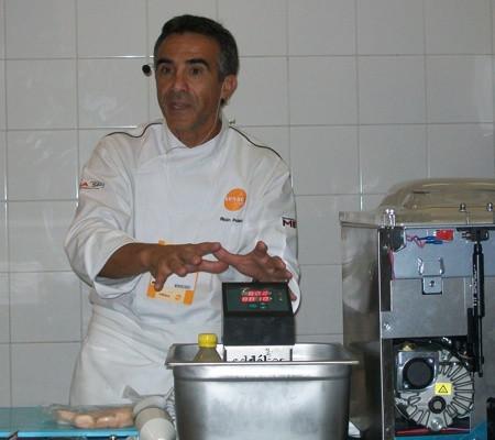 """Alain Poletto, Sous Vide Embassador at """"Prazeres da Mesa Ao Vivo"""" Sao Paulo (Brazil)"""