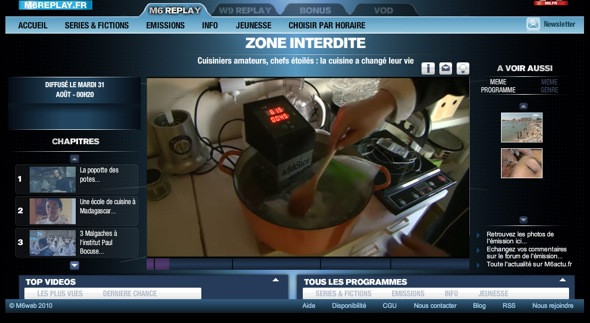 Zone Interdite thermoplongeur SWID cuisson sous vide