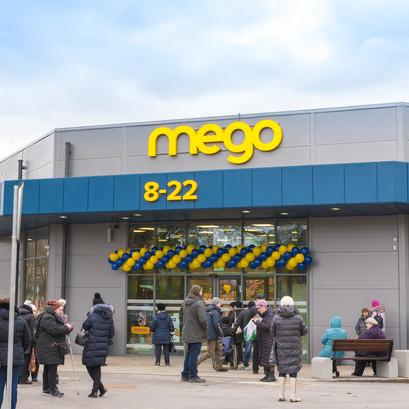 """Veikalu tīkla """"Mego"""" apgrozījums pārsniedzis 200 miljonus eiro"""