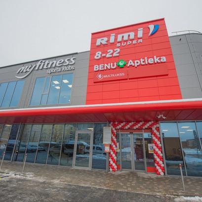 Atvērts Rimi Super veikals Rīgā, Dzelzavas ielā