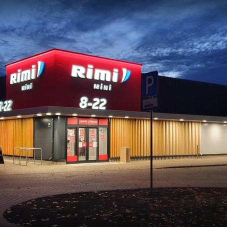 Saulkrastos atverts jauna koncepta Rimi Mini