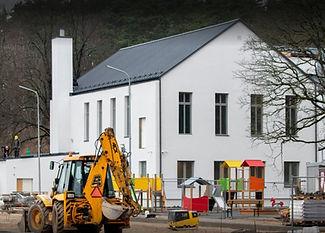 Piejūtas internātpamatskolas ēkas pārbūve