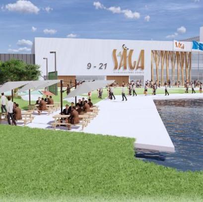 """Sakas būvēs jaunu tirdzniecības centru """"Saga"""""""