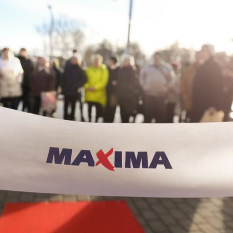 """Jauns """"Maxima X"""" veikals Gaigalas ielā 29, Rīga"""