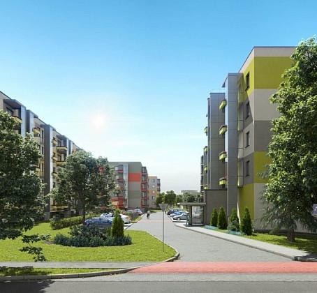 Pabeigta daudzdzīvokļu namu kompleksa Biķerziedi būvniecība Teikā