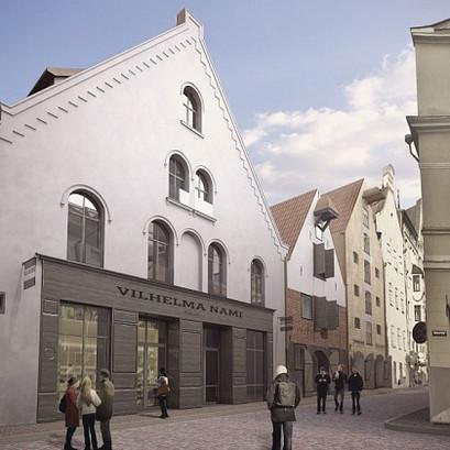 VILHELMA NAMI – Rīgas nākamie arhitektūras šedevri