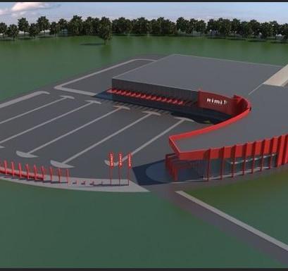 Ziepniekkalnā topošā tirdzniecības centra 'Rimi Aleja' kopējā platība būs 12 000 kvadrātmetri
