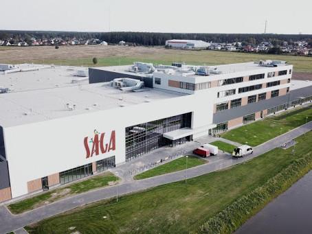 """""""Sāga"""" tirdzniecības centrā sāks darboties pirmie lielveikali"""