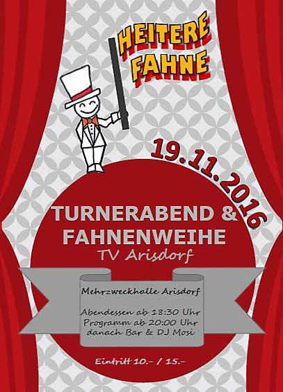 Turnerabend Plakat