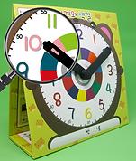 시계와 색깔 곰돌이