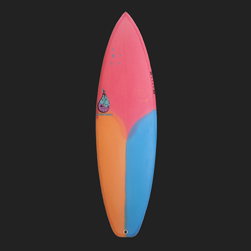 BLUE COOL HIGH PERFORMANCE SURFBOARD 5'11