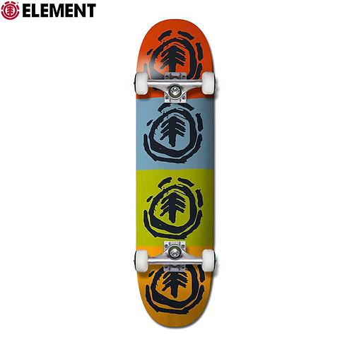 "ELEMENT QUADRANT 7.5"" COMPLETE SKATEBOARD"
