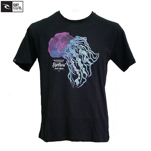 Ripcurl Jellyfish Africa t-shirt (Black)