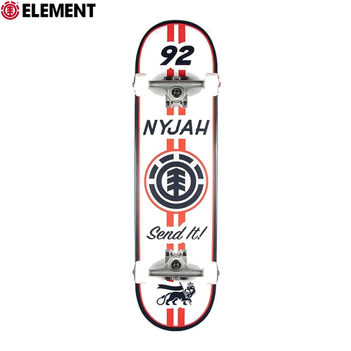 "ELEMENT NYJAH RACING 8,0"" COMPLETE SKATEBOARD"