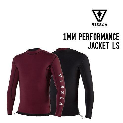 VISSLA 1MM PERFORMANCE LS JACKET (REVERSIBLE)