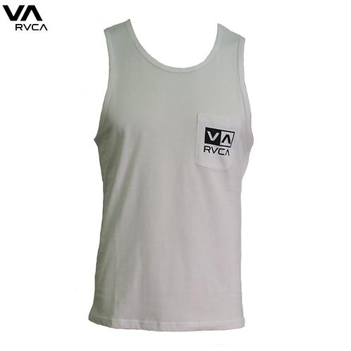 RVCA Flipped Box Pocket Vest White