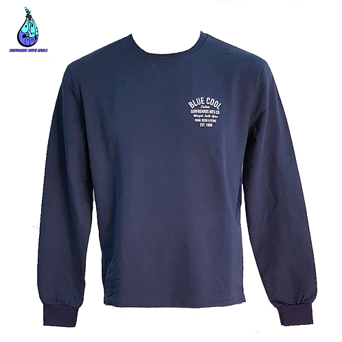 Blue Cool Custom Surfboards Sweater