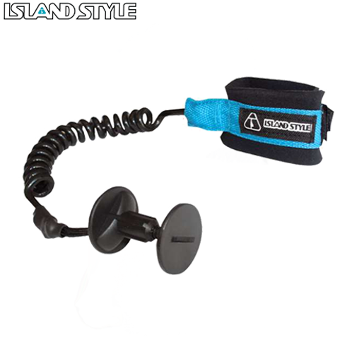 ISLAND STYLE COILED BODYBOARD WRIST LEASH