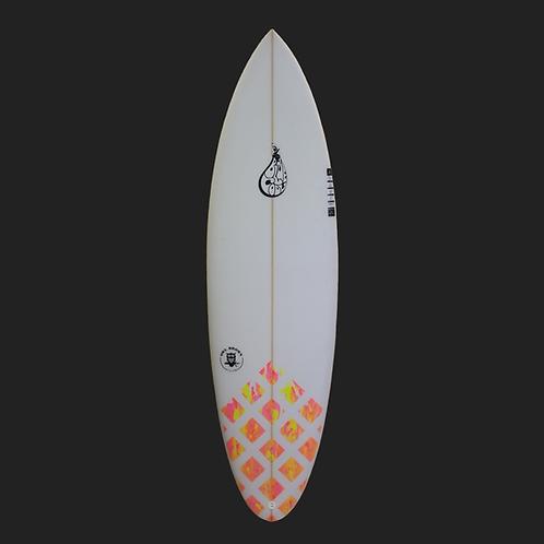 "BLUE COOL HIGH PERFORMANCE SURFBOARD 6'2"""