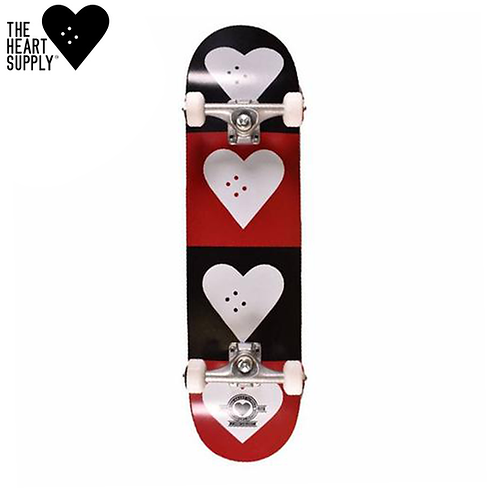 HEART SUPPLY LOGO QUAD 7,75''COMPLETE SKATEBOARD