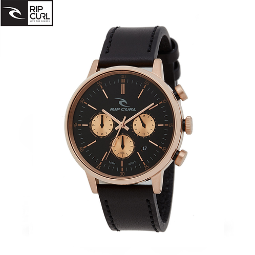 Ripcurl Drake Chrono Rose Gold Leather