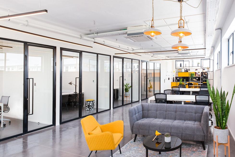 אלינור גוילי עיצוב משרדי אינבסטים 1