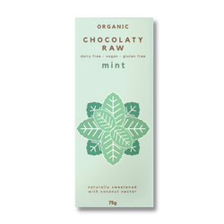Infused with Organic Mint Oil