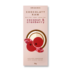 Includes Dried Cranberry & Coconut