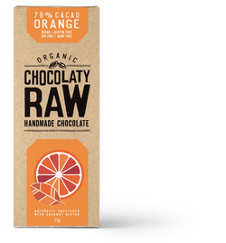 Infused with Organic Orange Oil