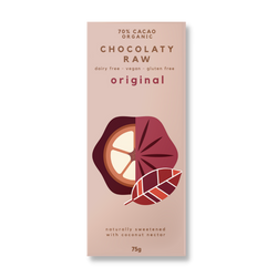 Includes 70% Organic Cacao