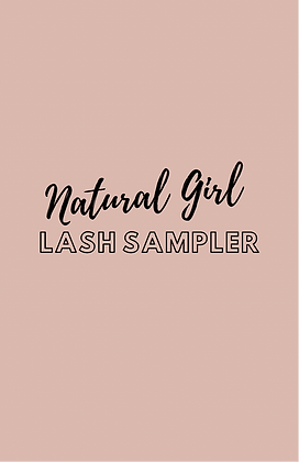 Natural Girl Lash Sampler