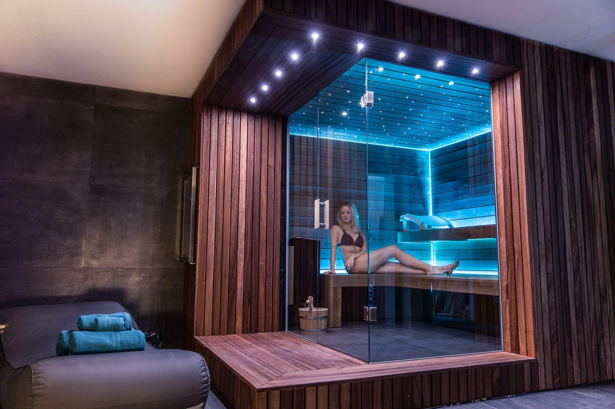 Sauna luminothérapie