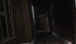 Rear hallway Interior walls