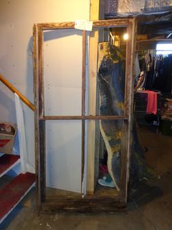 Cabin window (kitchen area)