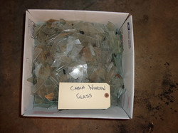 Cabin window glass